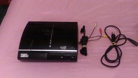40gb ps3 all wires no controller in Fort Polk, Louisiana