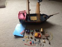 Playmobil Pirate Ship 5736 - Incomplete Set in Joliet, Illinois