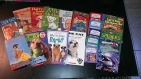 19 Amazing SCHOLASTIC books, BIG variety, see scan for titles and Authors. Conditions vary, some... in Ramstein, Germany