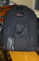 Nice LowePro Backpack  camera bag in Camp Lejeune, North Carolina