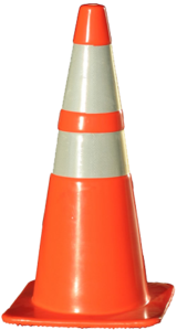 Construction Cones, Brand New, Never been used in Bartlett, Illinois