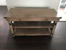 TV Stand solid wood  (Brand New) in DeKalb, Illinois