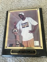 Kobe Bryant 2000 NBA Champion Plaque in Riverside, California
