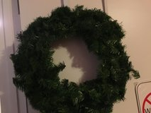 Plain Green Wreath in Camp Lejeune, North Carolina