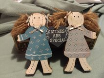"Wooden Dolls ""Sisters are Special"" in Camp Lejeune, North Carolina"