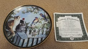 """Bradford Exchange collectible plate, """"Special Delivery"""" in Travis AFB, California"""