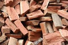 Firewood Red Eucalyptus in Yucca Valley, California