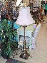 Brass & Glass Table Lamp (1594-2611) in Camp Lejeune, North Carolina