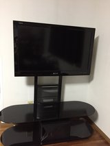 40 inch (diag.) Sharp-Aquos with TV Stand in Okinawa, Japan