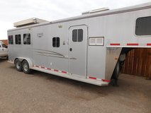 2008 Logan Edge Prestige Coach 3 Horse Trailer with LQ in Alamogordo, New Mexico