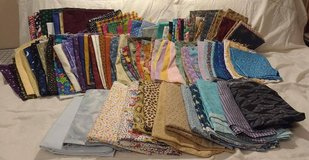 Tons of fat quarters for quilting/crafting in Beaufort, South Carolina