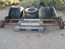 Trailer axles with tires and wheels in Alamogordo, New Mexico