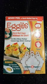 Eggies (boils egg substitutes like eggs) in Baumholder, GE