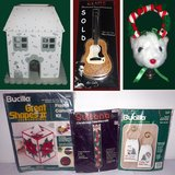 XMAS - Candle Holder - House of Lloyd's Musical Door Hanger - Crafts Cross Stitch, Needlecraft in Lockport, Illinois