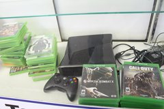 Xbox 360, Charger, Controller & Games in Beaufort, South Carolina