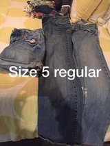 Clothes  xs-small shirts, jeans size 1/2 and size 5 in Camp Lejeune, North Carolina