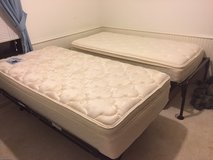 Twin Trundle Bed Frames and Mattresses in Kingwood, Texas
