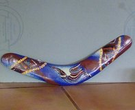 Hand Painted Boomerang in Ruidoso, New Mexico