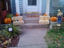 FREE- 2 SMALL PUMPKINS & 11 GOURDS **4 STRAW BALES PICTURED ARE NOT FREE** in Fort Belvoir, Virginia