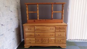 Dresser with Stand (all wood) in Okinawa, Japan