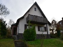 Freestanding house in Kusel (city) with beautiful covered terrace and huge garden! in Ramstein, Germany