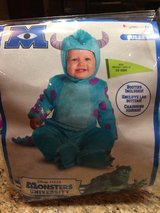 Sulley Halloween costume sz 12-18 mts in St. Charles, Illinois