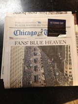Chicago Tribune - Cubs, Fans Blue Heaven Sunday paper in Naperville, Illinois