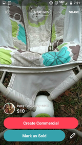 Baby carrier easy fold in Beaufort, South Carolina