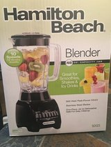New Unopened Hamilton beach blender in Columbus, Georgia