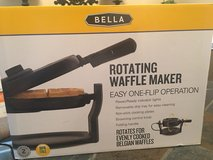 Bella Belgian waffle maker new in Columbus, Georgia