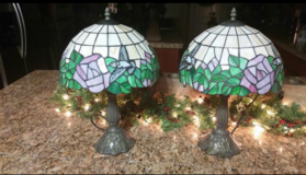 Tiffany Style Table Lamps in Baytown, Texas