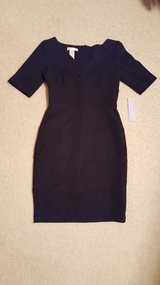 London Time V Neck Black Dress Size 8 NEW in Aurora, Illinois