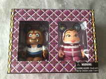 Disney Vinylmation Figurines Holiday Beauty and the Beast in bookoo, US