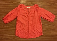 Women's ANN TAYLOR LOFT Salmon/ Orange Top. Size M. in Okinawa, Japan