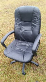 Leather Office Chair in Camp Lejeune, North Carolina
