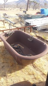 Complete claw foot tub. in Yucca Valley, California
