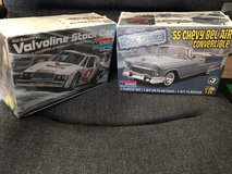 55 Chevy Bel Air and a stock car model kit new in the boxes in Alamogordo, New Mexico