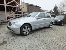 Mercedes C-class 200 only 92kmls- just passed insp. in Spangdahlem, Germany