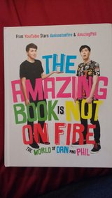 """""""The Amazing Book is Not on Fire"""" hard cover in Lockport, Illinois"""