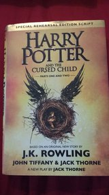 """""""Harry Potter & the Cursed Child, parts 1 & 2"""" - hard cover, new in Lockport, Illinois"""