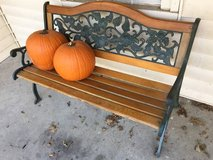 Park Bench in Fort Leavenworth, Kansas