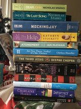 Various titles: Lot of books in Travis AFB, California