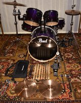 5 Piece Pearl Export Drum set in Hohenfels, Germany