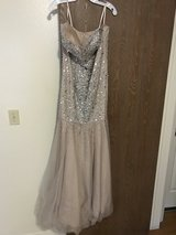 For Sale: Beaded Sequin Gown - Davids Bridal (Fort Irwin) in Fort Irwin, California