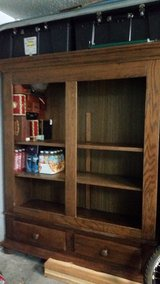 Oak Cabinet-shelf in Tampa, Florida