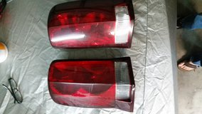 Escalade tail lights in Saint Petersburg, Florida