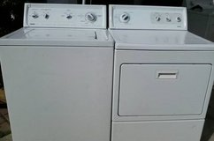 Kenmore Washer and Dryer in Temecula, California
