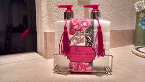 """Lila Grace """"Vanilla Rose"""" Hand Soap and Lotion Gift Set in Joliet, Illinois"""