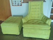 Retro /Vintage chair and footstool in Alamogordo, New Mexico