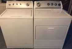 Newer Whirlpool Washer and Electric Dryer in San Diego, California